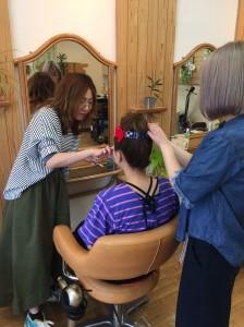 ヘア・メイク お祭り 青葉まつり|幸町にある美容室sienne(ジェンヌ)